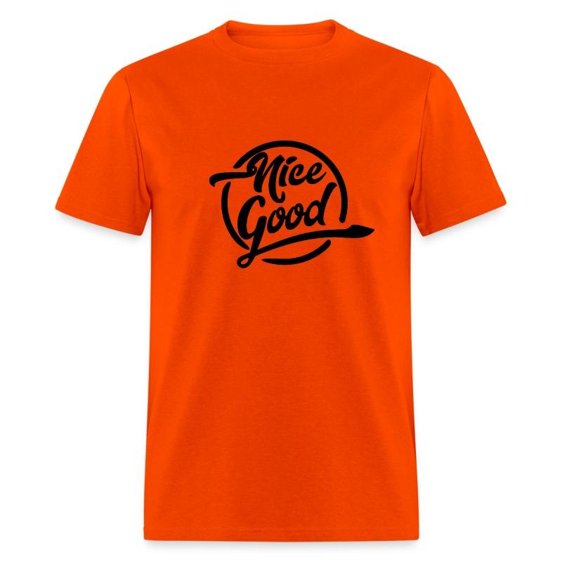 Nice Good - Black - Men's T-Shirt