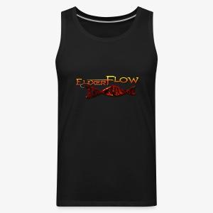 Men's no sleeve Elixer Flow double helix - Men's Premium Tank