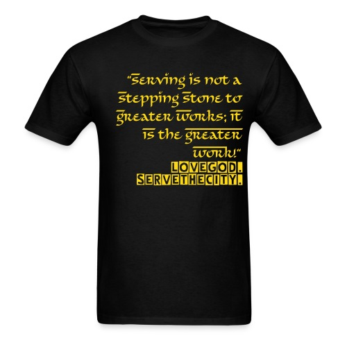 Serving - Men's T-Shirt