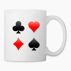 Playing Card Suits: Mug