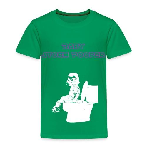 Baby Storm Pooper, purple, toddler 3 - Toddler Premium T-Shirt