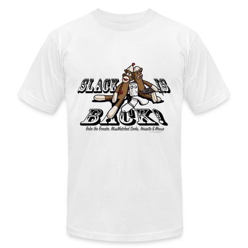 Bobo the Bonobo - Slack is Back - Men's Fine Jersey T-Shirt