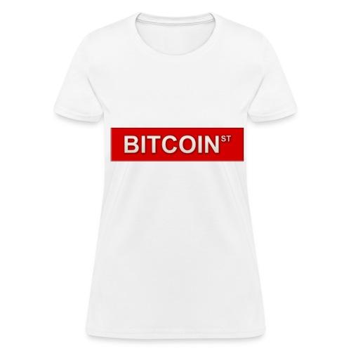 BITCOIN ST - Women's T-Shirt