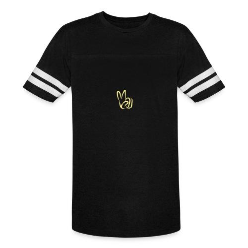 CMMC Peace Logo Soccer T (Mens) - Vintage Sport T-Shirt