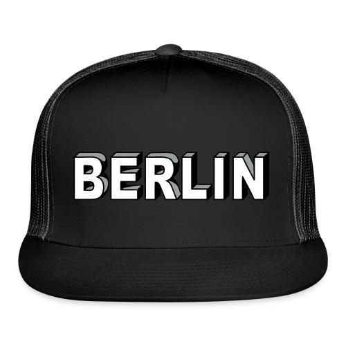 BERLIN block-font - Trucker Cap