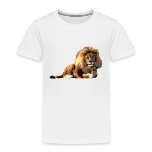 Lion (ADD CUSTOM TEXT) - Toddler Premium T-Shirt