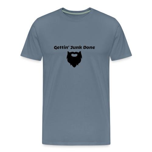 Men's T-Shirt with Logo - Men's Premium T-Shirt