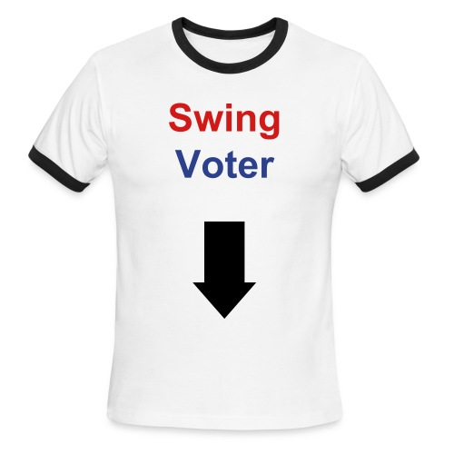 Swing Voter - Men's Ringer T-Shirt