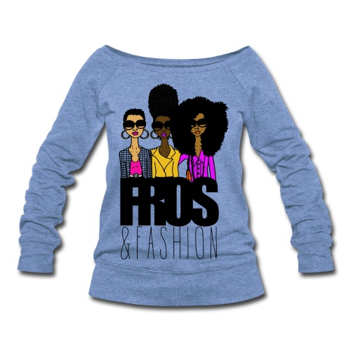 Fros & Fashion - Women's Wideneck Sweatshirt