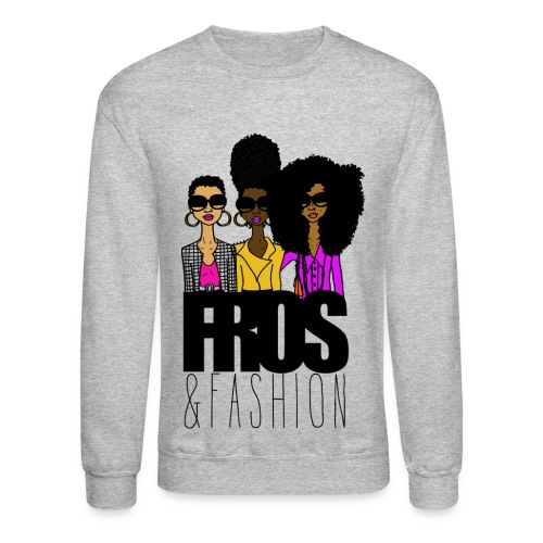 Fros & Fashion - Crewneck Sweatshirt