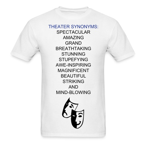 Theater Synonyms - M - Men's T-Shirt