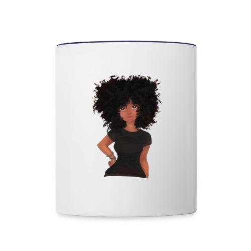 Afro Vibes - Contrast Coffee Mug