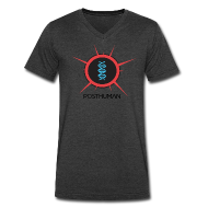 T-Shirts ~ Men's V-Neck T-Shirt by Canvas ~ Posthuman: Mens V-Neck