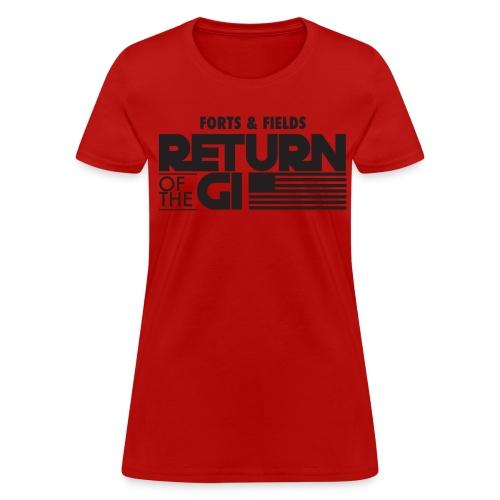 Women's T-Shirt - GI Stack (Dark) - Women's T-Shirt
