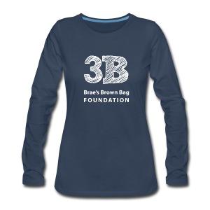 3B in Long Sleeve for Women - Women's Premium Long Sleeve T-Shirt