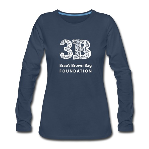 3B in Long Sleeve for Women - Women's Premium Long Sleeve T-Shirt