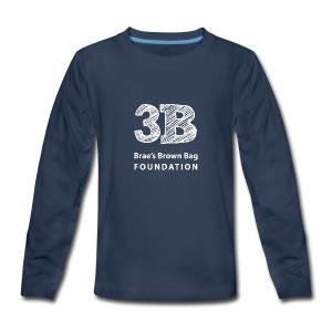 3B in Long Sleeve for Kids - Kids' Premium Long Sleeve T-Shirt