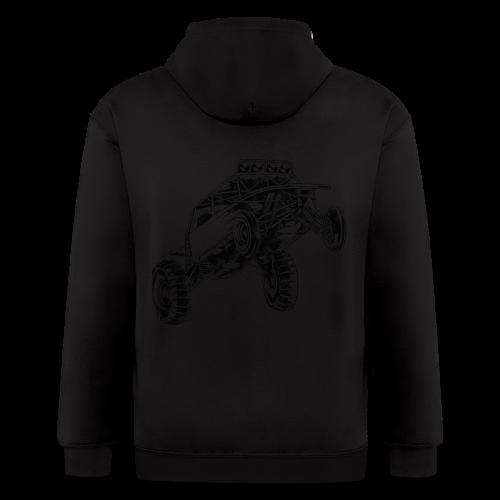 Dune Buggy Stunt - Men's Zip Hoodie