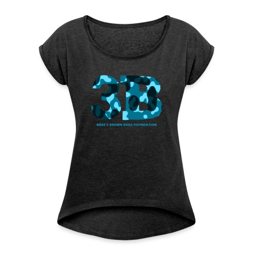 3B Women's Roll-Cuff T-Shirt - Women's Roll Cuff T-Shirt