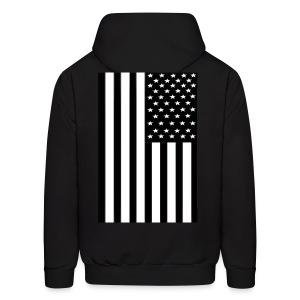flag (back only) - Men's Hoodie