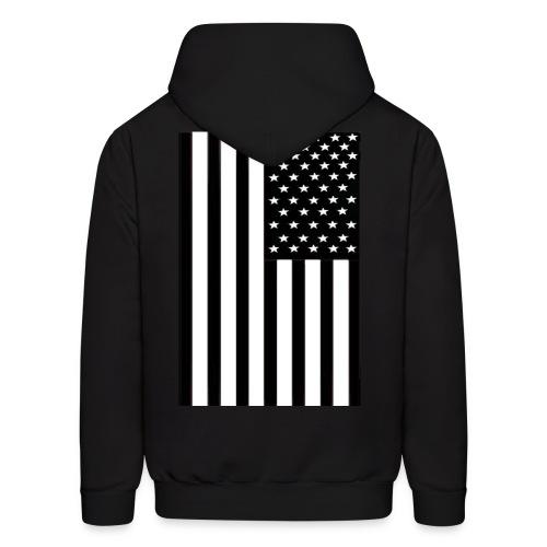 flag (back only) - Men's Hoodie