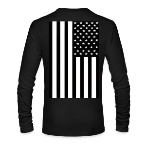 Flag - Men's Long Sleeve T-Shirt by Next Level
