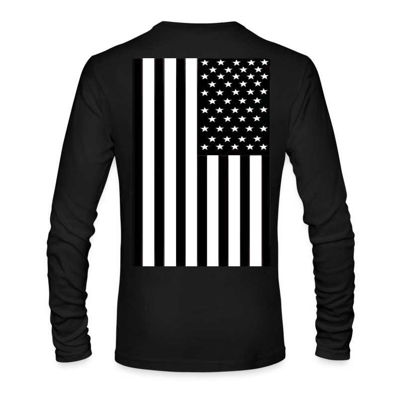 Flag - Men's Long Sleeve T-Shirt by Next Level