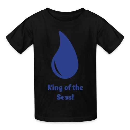 King of the seas! - Kids' T-Shirt
