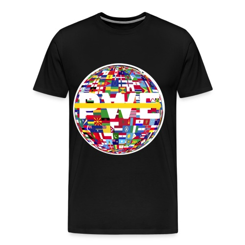 PWE World T-Shirt - Men's Premium T-Shirt