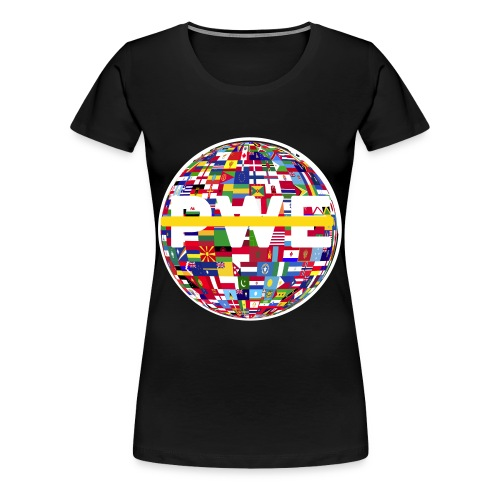 PWE World T-Shirt (Women) - Women's Premium T-Shirt
