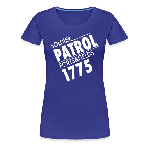 Women's T-Shirt - Soldier Patrol (Light) - Women's Premium T-Shirt