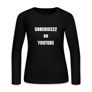 Women's Long Sleeve Jersey T-Shirt - shoenice22,funniest man alive,absolut vodka bottle slammed,SHOENICE