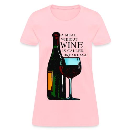 Wine Breakfast - Women's T-Shirt