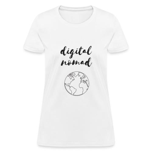 Digital Nomad - Women's T-Shirt
