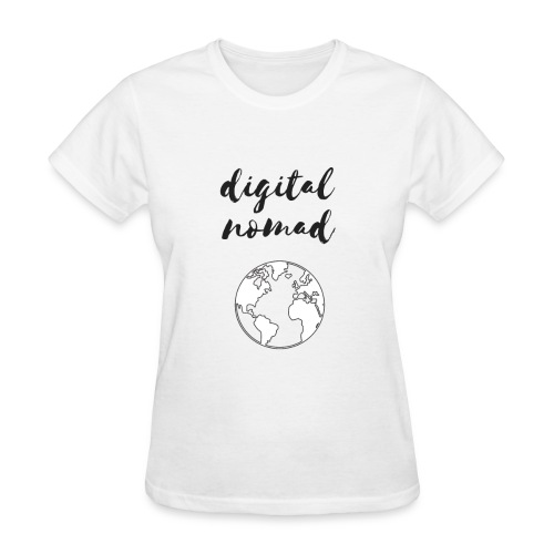 Digital Nomad - Women's T-Shirt