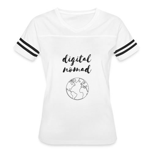 Digital Nomad - Women's Vintage Sport T-Shirt