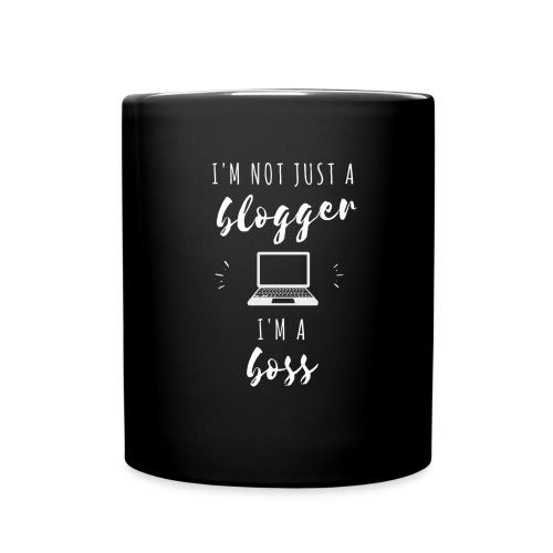 I'm Not Just a Blogger - Full Color Mug