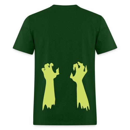 Glow Zombie Arms - Men's T-Shirt
