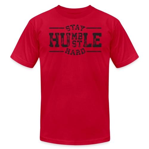 Stay Humble Hustle Hard T-Shirt - Men's Fine Jersey T-Shirt