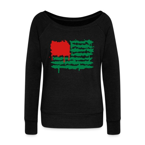 Women's Republic of Cr8tive sweatshirt - Women's Wideneck Sweatshirt