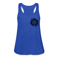 Tanks ~ Women's Flowy Tank Top by Bella ~ Team Free Ladies