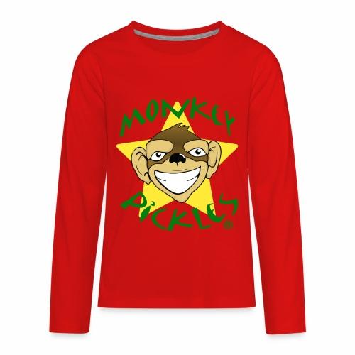 Monkey Pickles Kids Premium Long Sleeve T-Shirt - Kids' Premium Long Sleeve T-Shirt