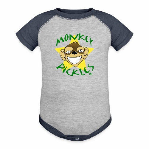 Monkey Pickles Baby Contrast One Piece - Baby Contrast One Piece