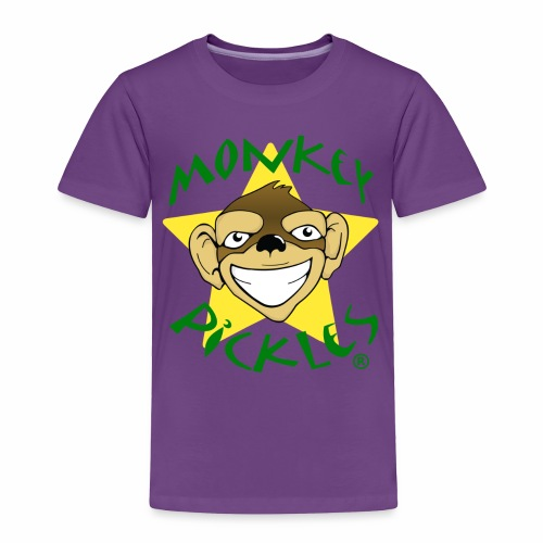 Monkey Pickles Toddler Premium T-Shirt - Toddler Premium T-Shirt