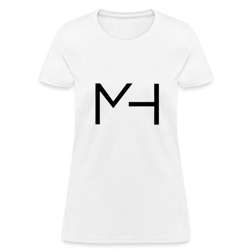 MH firma (texto negro) - Women's T-Shirt