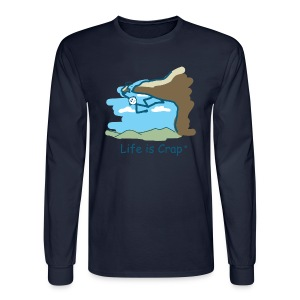 Rock Climber - Mens Long Sleeve T-shirt - Men's Long Sleeve T-Shirt