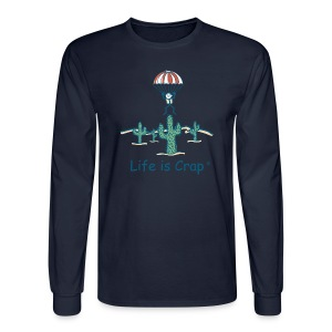 Parachute - Mens Long Sleeve T-shirt - Men's Long Sleeve T-Shirt