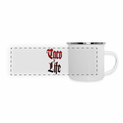 Taco Is Life - Camper Mug - Panoramic Camper Mug