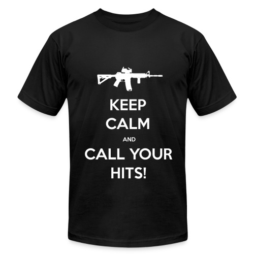Keep Calm and CALL YOUR HITS! - Men's Fine Jersey T-Shirt