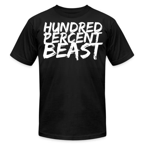 Hundred Percent Beast - Men's Fine Jersey T-Shirt